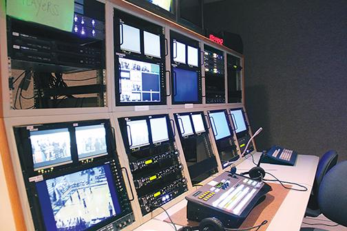 These are the screens used to monitor CHTV shows. According to CHTV adviser Anna Kaiser, despite threats of budget cuts, some students like Gonzalez still plan to pursue their passions in broadcasting.