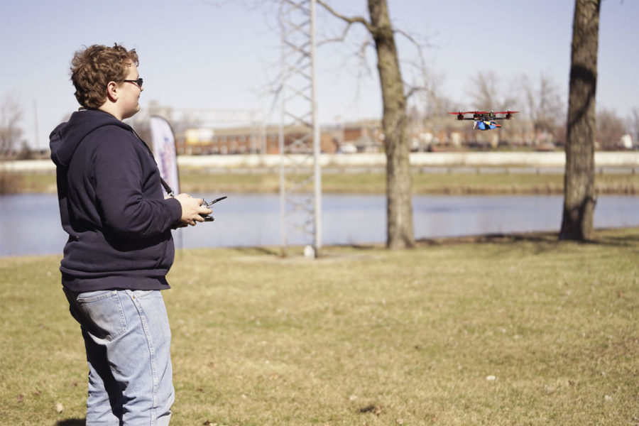 Drone Zone: CHS students build drones from scratch for competitive launches