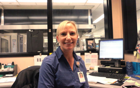 Q&A: Main Cafeteria Manger Holly Huepenbecker-Hull talks about the progress of the cafeteria this year.