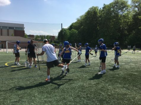 CHS men's lacrosse team faced defending State Champions