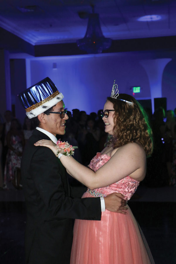 Q&A with Prom Queen Kacey Mullens and Prom King Diego AranaGomez