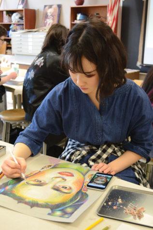 Sophomore Jiwon Yu