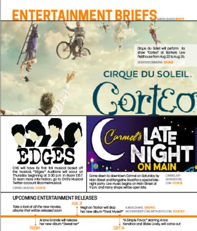 8/14 Entertainment Briefs