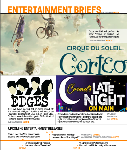 8/14 Entertainment Briefs