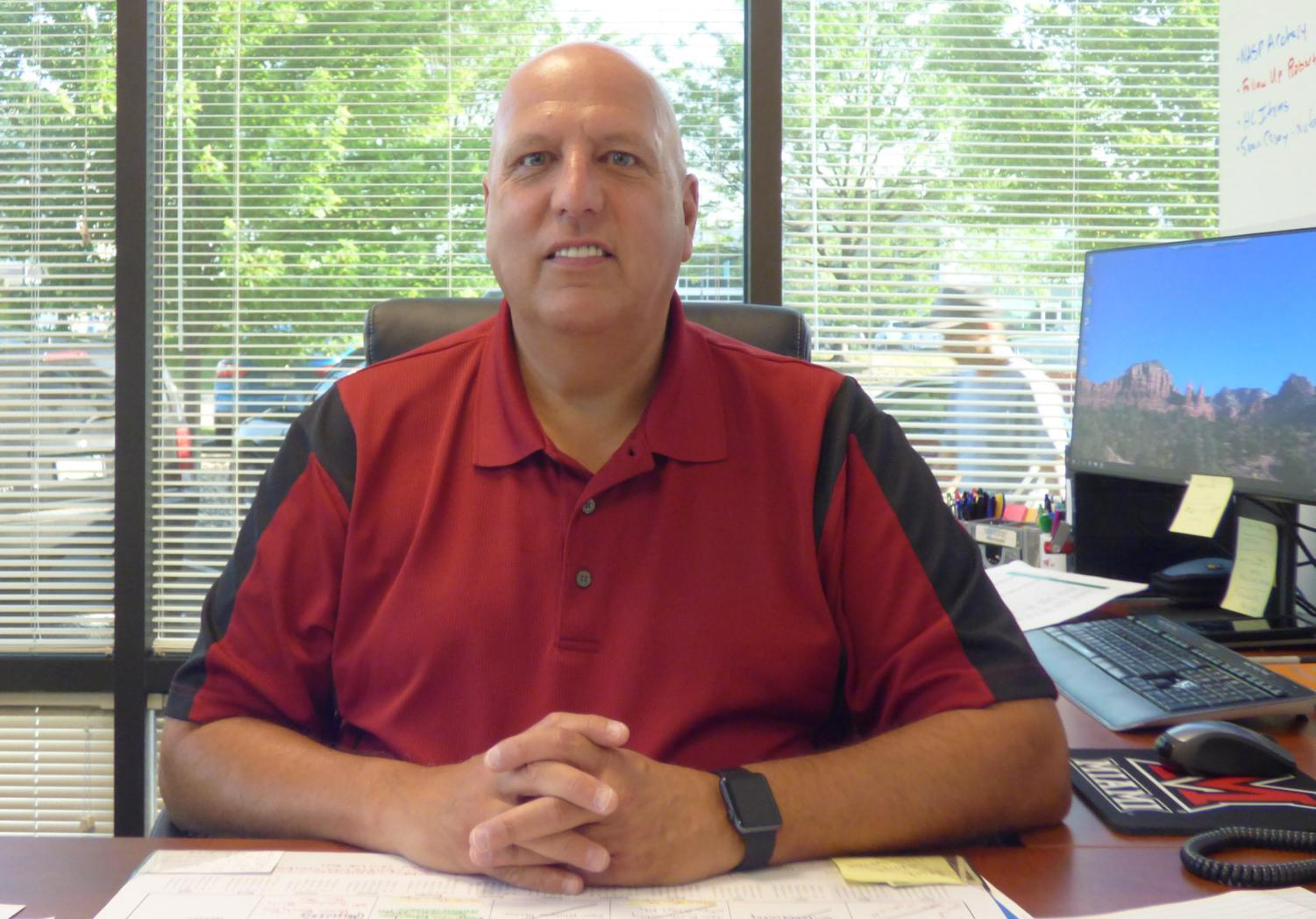 Chief Academic Officer of the Indiana Agriculture and Technology School Keith Marsh