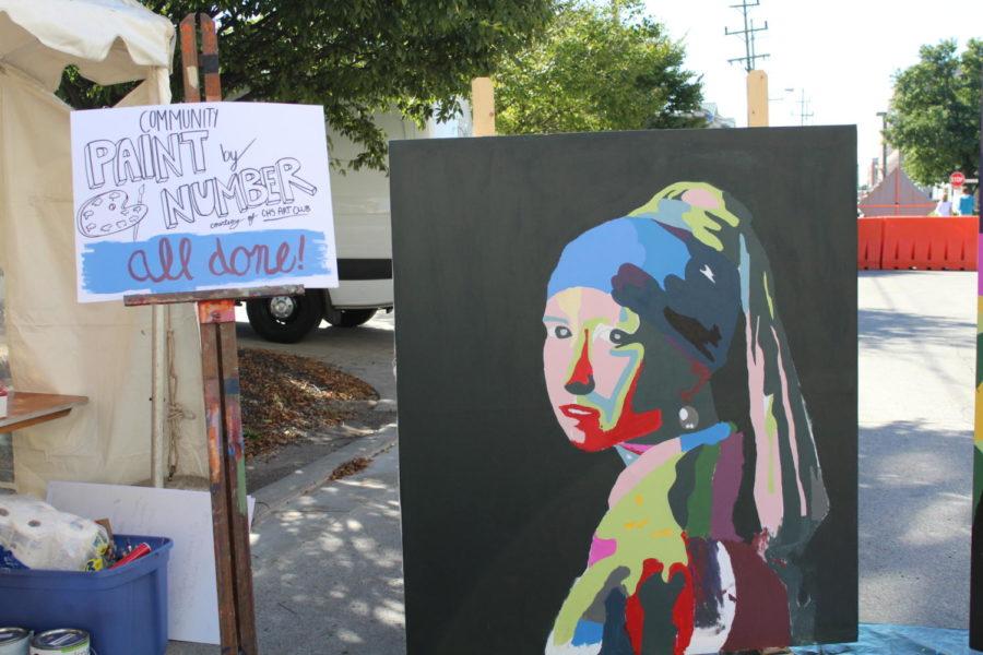 An art piece created by the CHS Art Club.