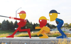A Work Of (Public) Art: Students, mayor discuss aesthetics vs. costs of recently added public art on Carmel roundabouts