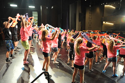 Accents, Ambassadors rehearse music, organize logistics for Choir Cabaret, Auction on Oct. 20
