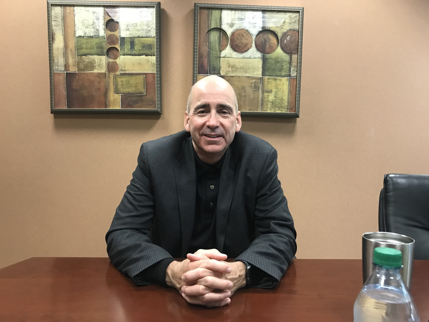 Carmel Clay Schools Superintendent Michael Beresford implements first major change in new position. Beresford has high hopes that the switch from myCCS to PowerSchool will be smooth and positive.
