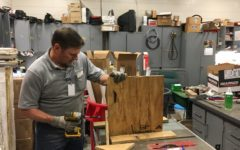 Maintenance checks scoreboards, other things to get ready for winter sports