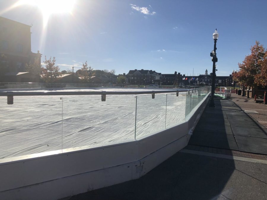 Ice at Center Green