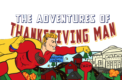 Behind the Scenes: Thanksgiving Man