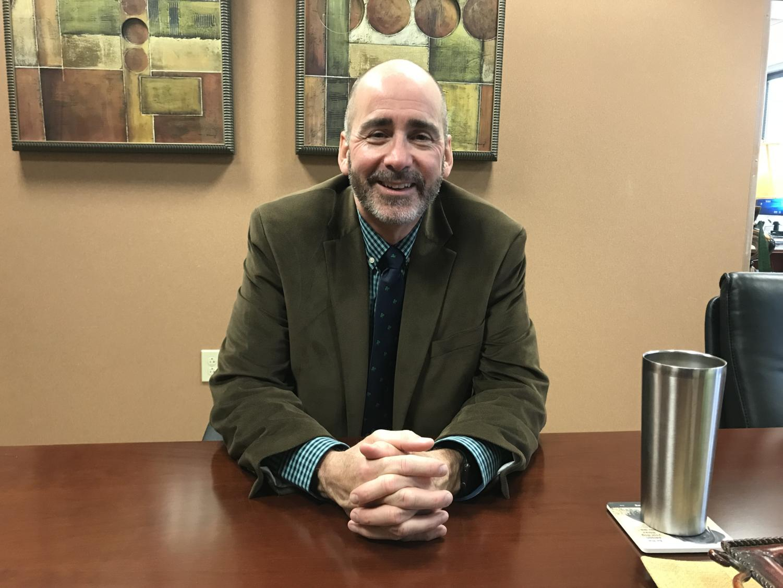 Superintendent Michael Beresford participates in