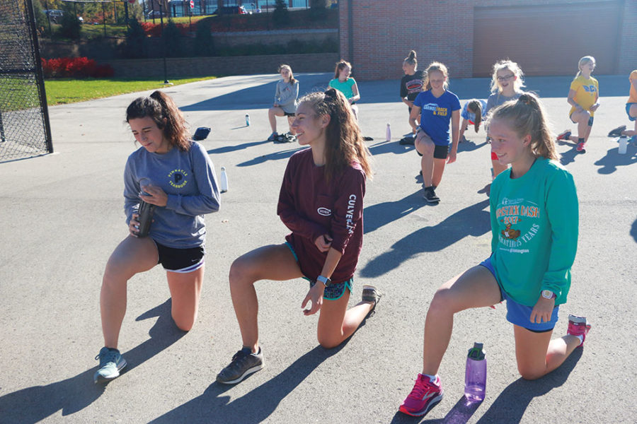 Students use athletic talent to give back during holiday season