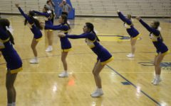 Winter Cheerleading will support the men's basketball team as they head to Southport to play Jeffersonville on Dec. 8.