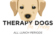 Therapy Dogs on Friday!