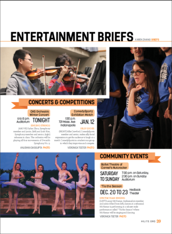12.13 Entertainment Briefs