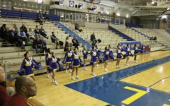 Winter cheerleading will support the women's basketball team on Dec. 21.