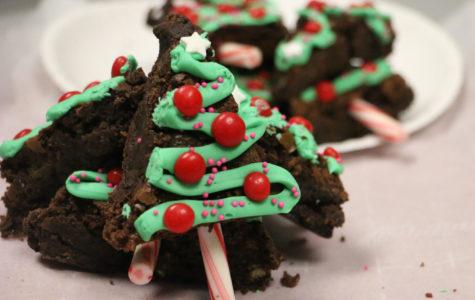 Winning Recipe: Christmas Tree Brownies