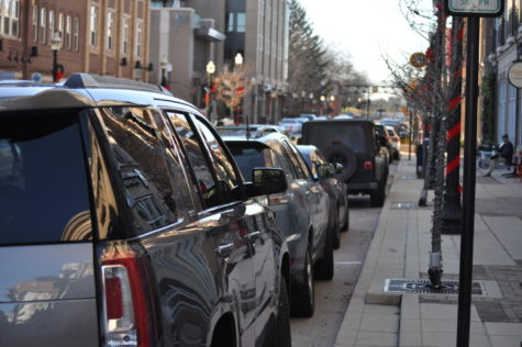 Driving in Carmel: as Carmel becomes more urban, parking is an increasing problem