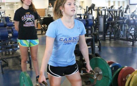 Senior Cate Harden