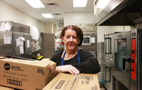 Cafeteria Worker Catherine Marshall