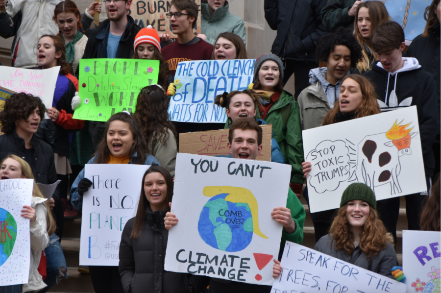 Students Participate in Global Climate Strike