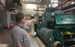 Maintenance department to continue working on chillers, prevent roof leaks
