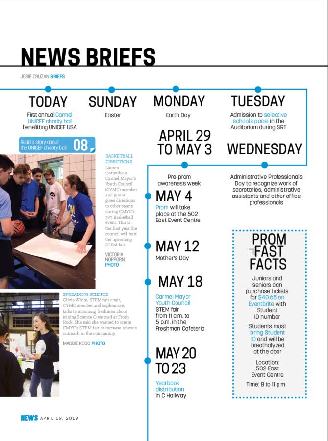 News Briefs 4.19