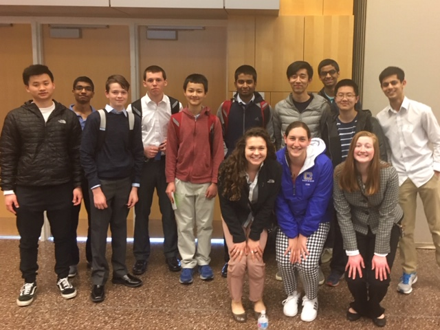 Economics Club members traveling for competitions