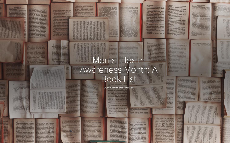 Mental Health Awareness Month: A Book List