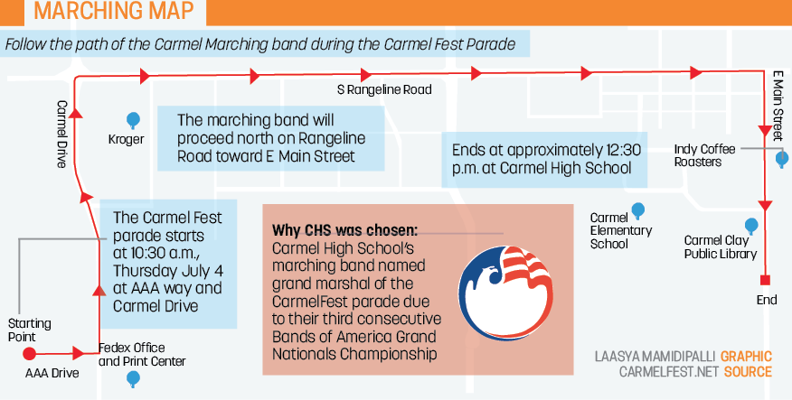 Marching to the Beat: CHS marching band named Grand Marshal of