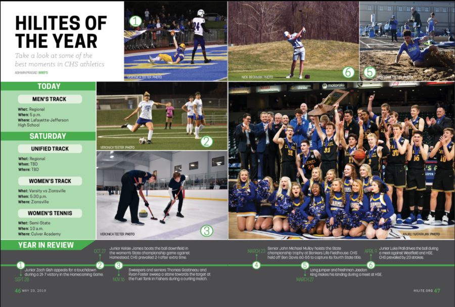 HiLites of the Year: Take a look at some of the best moments of CHS athletics