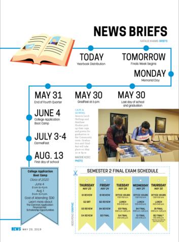 05.23 News Briefs