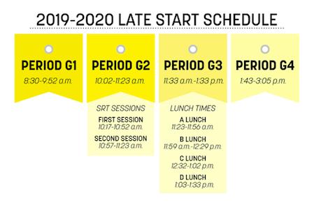 Late start schedule