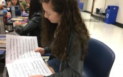 Orchestras practicing for upcoming fall concert