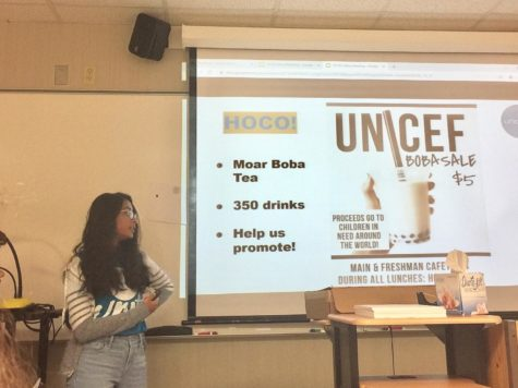 UNICEF Club to sell boba at Homecoming booth on Sept. 27
