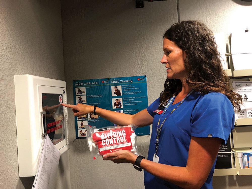Stop the Bleeding: School district increases amount of Stop the Bleeding kits within school