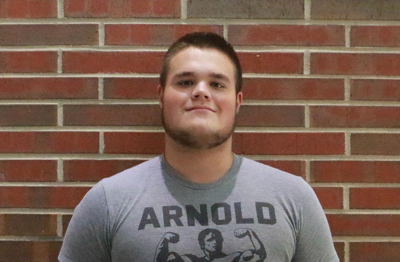 Senior Brandon Matura