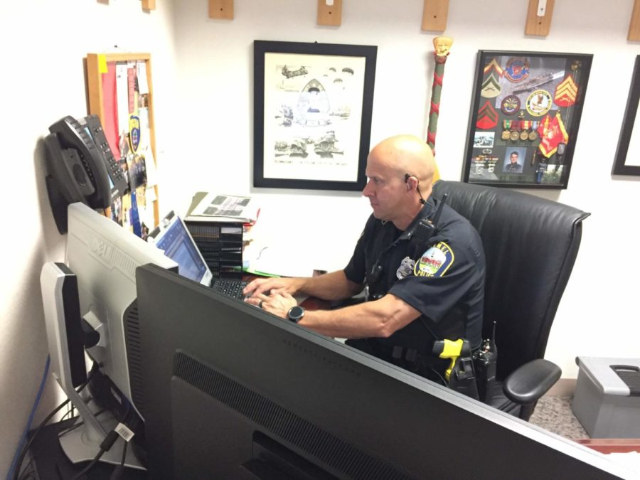 School Resource Officers (SROs) plan for potential new SRO at CHS