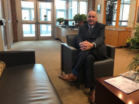 """Superintendent Michael Beresford discusses the upcoming referendum regarding school safety that will take place on the Nov. 5 ballot. Beresford said he is """"cautiously optimistic"""" about the results."""