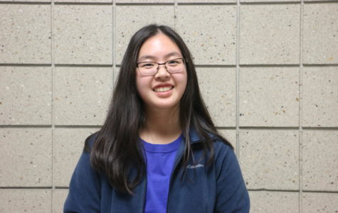 Freshman Grace Zhang