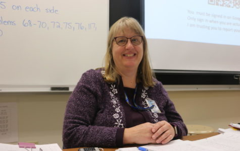 Cynthia Henry, chemistry teacher and Science Olympiad sponsor