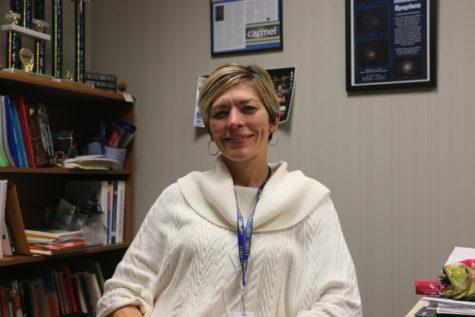 Science Department Chair Jennifer Drudge