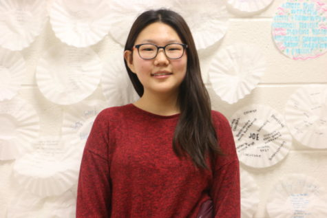 Sophomore Jinhee Won