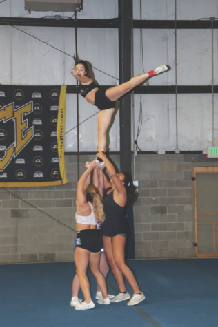 Athletes, coach explain differences intensity of  ICE competition cheer compared to  winter cheer