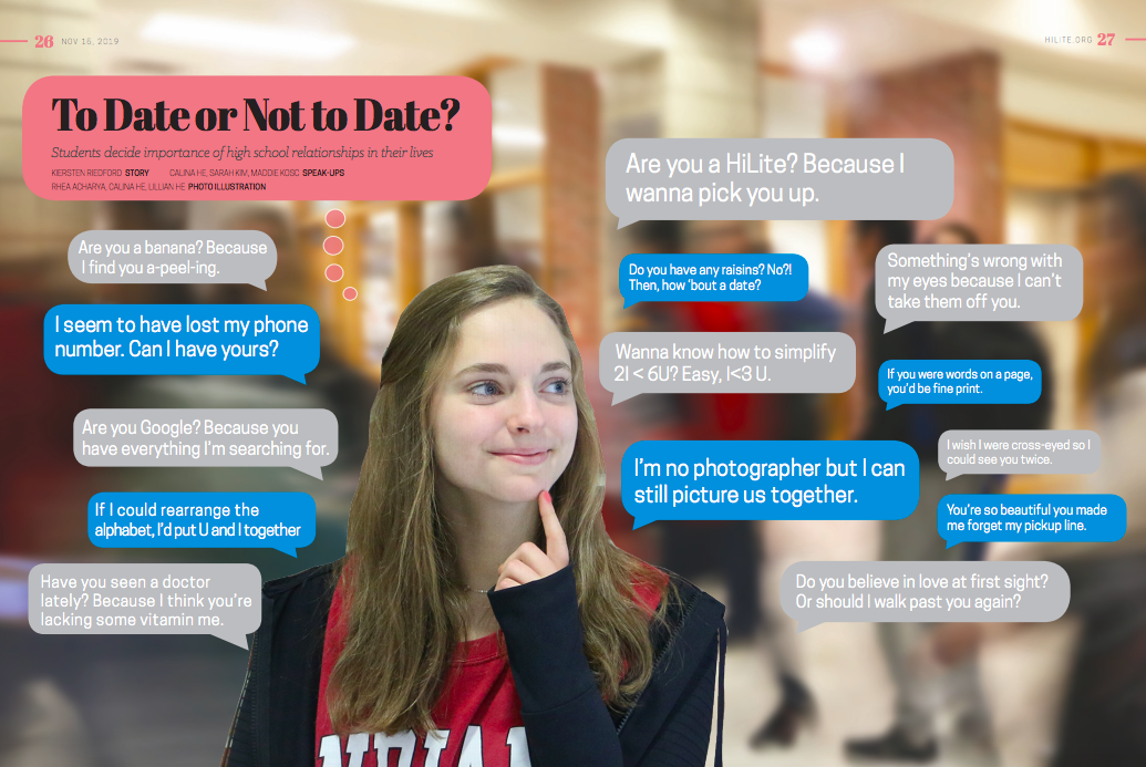 """As """"cuffing season"""" arrives, students debate how high school relationships affect social development"""