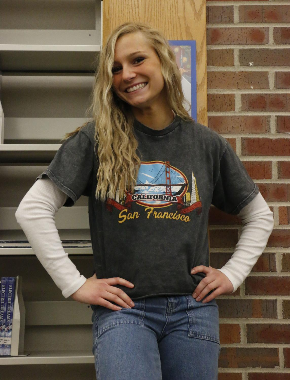 Senior Chloe Meredith