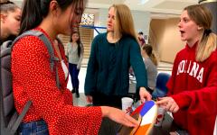 Senior Class officers brainstorm senior-specific events