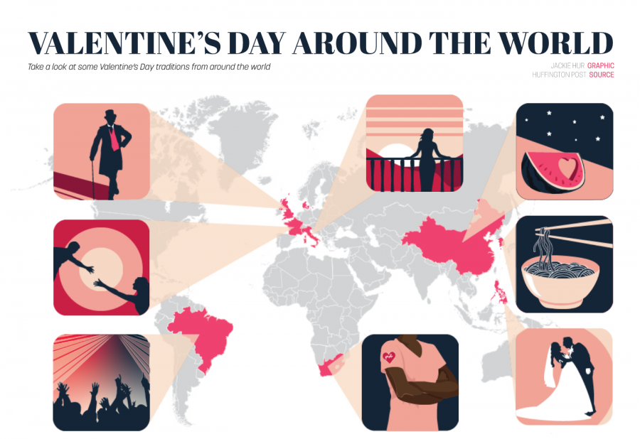 Valentine's Day Around the World